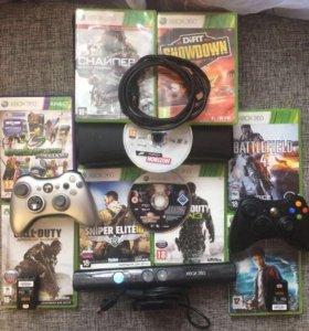 Xbox360+ 10 игр