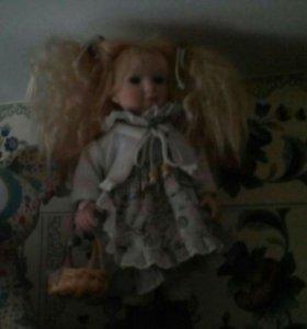 Фарфоровые куклы коллекционные