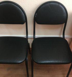 Офисные стулья, кожа
