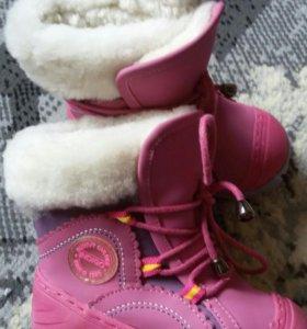 сапоги для девочки зима 21-22