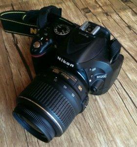 Nikon D5200 kit 18-55