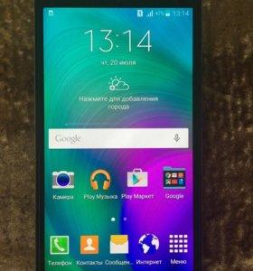 Смартфон Samsung Galaxy A5 (2015) 16 ГБ чёрный
