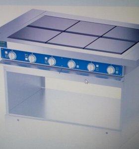 Шестиконфорочная плита ЭПЧ-9-6-17 без жарочного шк