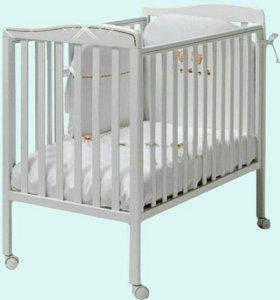 Кроватка Bambolina Tenerino Cristallo