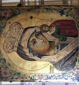 Антиквариат Богородица Икона