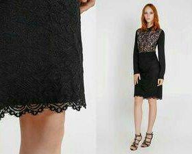 Красивая кружевная юбка