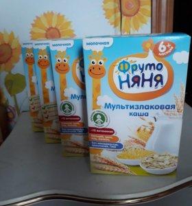 Молочная каша Фрутоняня Мультизлаковая 4 шт.