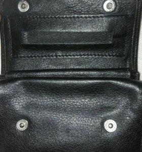 Кожаный кисет Lubinski,zippo,+ много аксессуаров