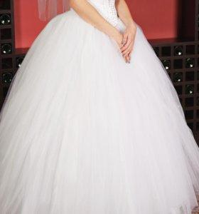 Легкое Счастливое Свадебное Платье