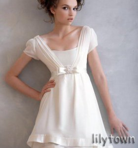 Свадебное платье короткое / платье для девичника