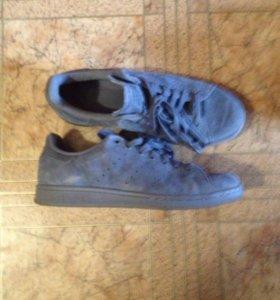 Adidas синие мужские туфли