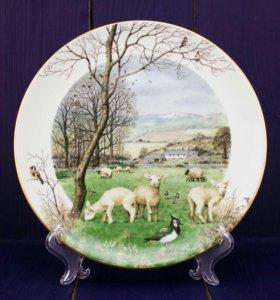 Тарелка January's Lambing Seasons, ROYAL WORCESTER
