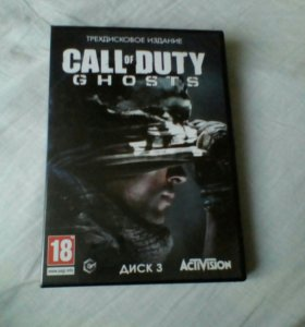 Диск call of duty. ghost