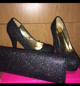 Сумочка + туфельки 39 размер