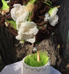 Топиарий чайная роза
