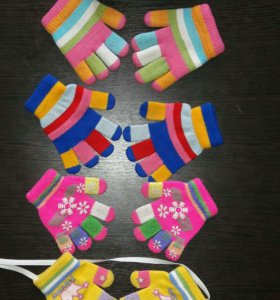 Перчатки на 6мес-1,5 года