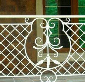 Ограждение балконное. Ковка