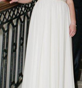 Свадебное платье в Греческом стиле цвет шампань