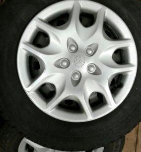 Резина Bridgestone зима с дисками