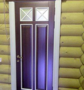 Изготавливаем двери на заказ любых размеров из любой древесины.
