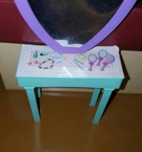 Туалетный столик для куклы Барби