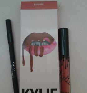 KYLIE 2 в 1 блеск для губ + карандаш