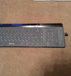 Клавиатура и мышь Defender Domino 825 Nano