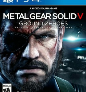 MGS V Ground zeroes для ps4