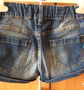 Джинсовые шорты на девочку Button Blue