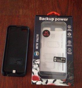 Чехол зарядка на айфон 5,5s