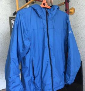 Куртка мужская демисезонная Adidas (голубая)