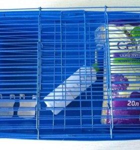 Клетка для кролика, дегу, грызуна, крысы, хорька