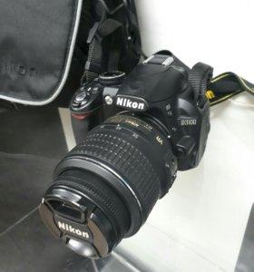 Зеркальный фотик Nicon D3100