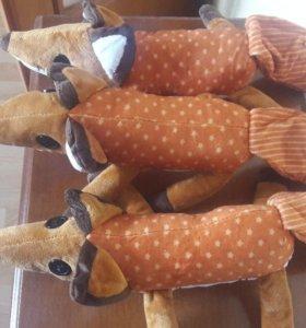 Новая мягкая игрушка лис из маленького принца (42