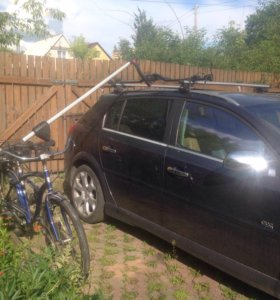 Пневматический подъёмник-крепление для велосипеда