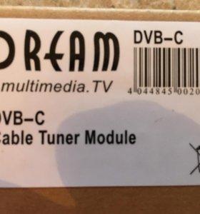 DVB-C тюнер для ресиверов Dream Multimedia