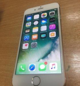 iPhone 6 16 gold без отпечатка
