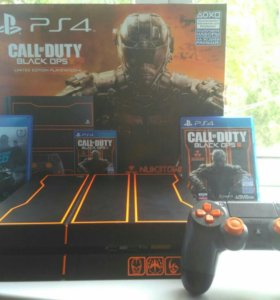 Playstation 4 black ops 3 limited edition