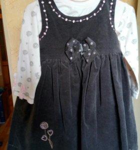 Сарафан с блузкой, туники с легинсами Wojcik