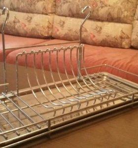 Сушка для посуды на рейлинг