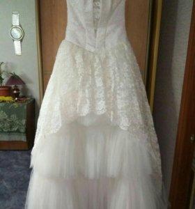 Свадебное платье, 46 размер