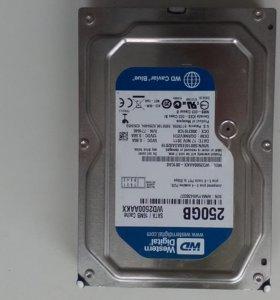 Жёсткий диск Western Digital 250гб