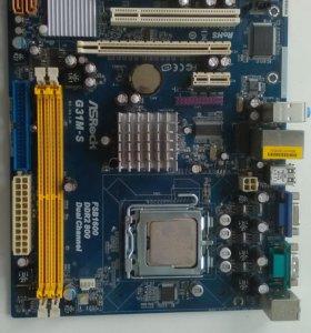 ASRock G31M-S + Intel Core 2 Duo E8400