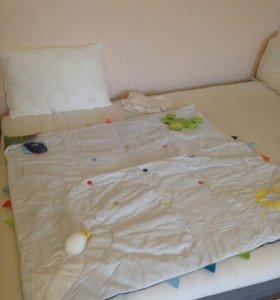 Детский развивающий коврик 118 на 118 см
