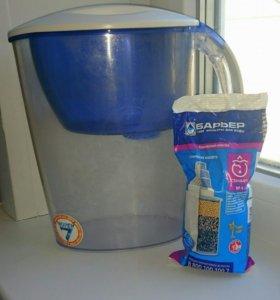 Новый фильтр для воды Барьер