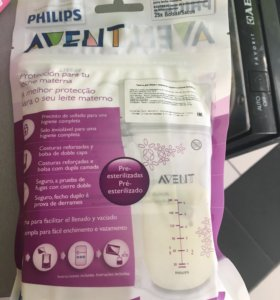 Пакеты для заморозки молока Avent