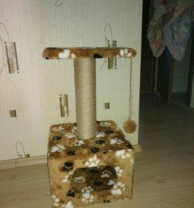 Домик когтеточка для кошки или котенка