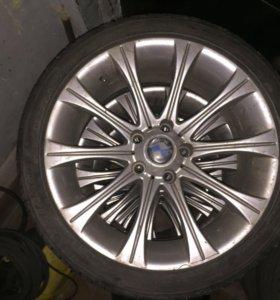 Разноширокие диски на BMW