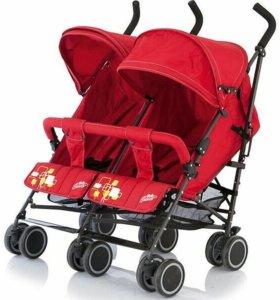 Коляска-трость для двойни Baby Care Citi Twin