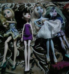 Куклы Монстер Хай и Эвер Афтер Хай торг уместен